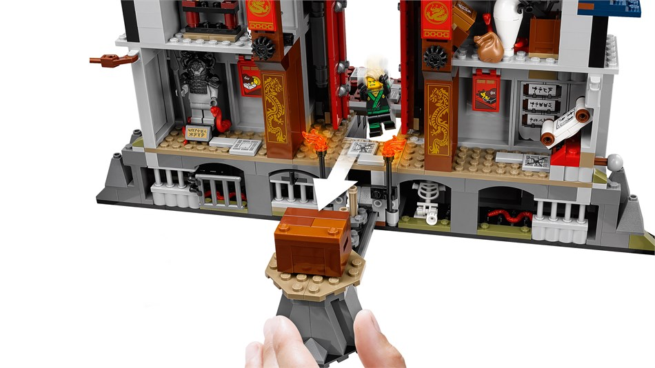 LEGO® Ninjago - ultimatives Tempel-Versteck - 70617