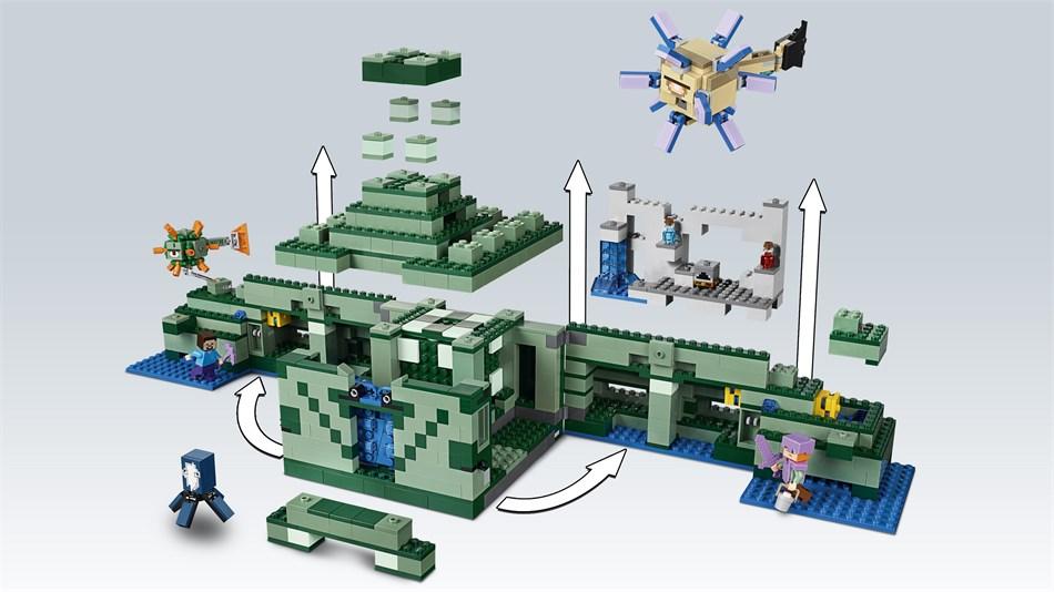 LEGO® Minecraft - Das Ozeanmonument - 21136