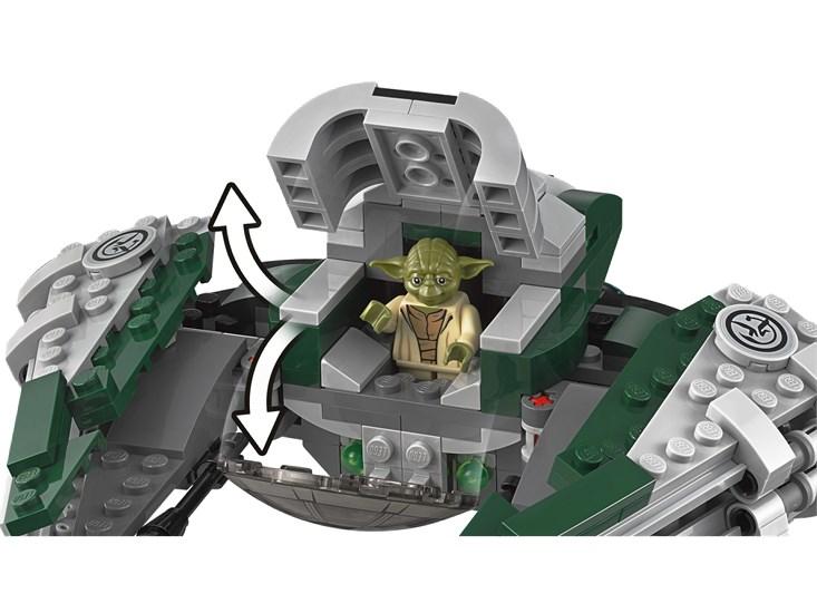 LEGO® Star Wars™- Yoda's Jedi Starfighter™ - 75168