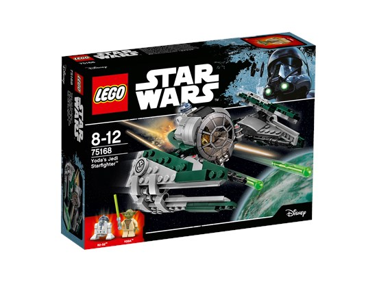 LEGO® Star Wars™- Yoda's Jedi Starfighter™ - 75168