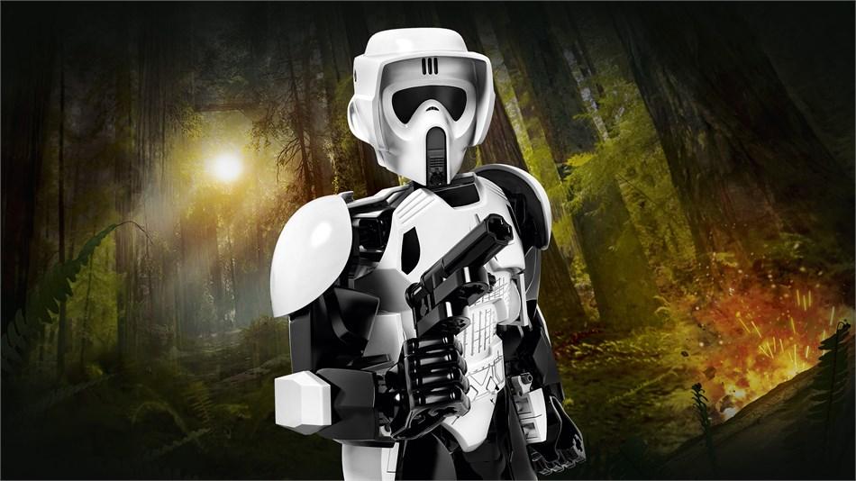 LEGO® Star Wars™- Scout Trooper™ & Speeder Bike™ - 75532