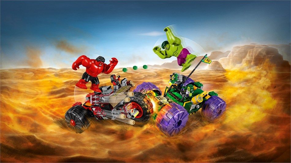 LEGO® Marvel Super Heroes - Hulk vs Red Hulk - 76078