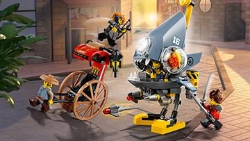 LEGO® Ninjago - Piranha-Angriff - 70629