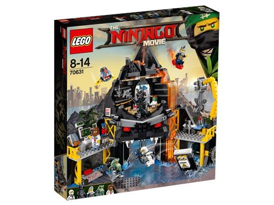 LEGO® Ninjago - Garmadons Vulkanversteck - 70631