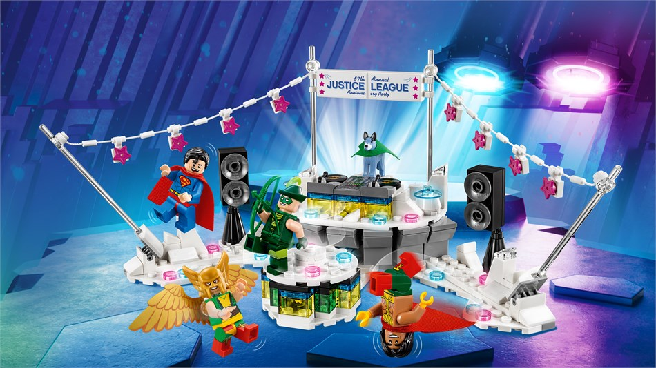 LEGO® DC Comics Super Heroes - The Justice League™ Anniversary Party - 70919