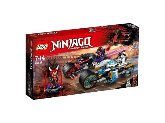 LEGO® Ninjago - Straßenrennen des Schlangenjaguars - 70639