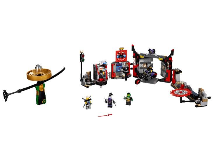 LEGO® Ninjago - Hauptquartier der Motorradfahrer - 70640
