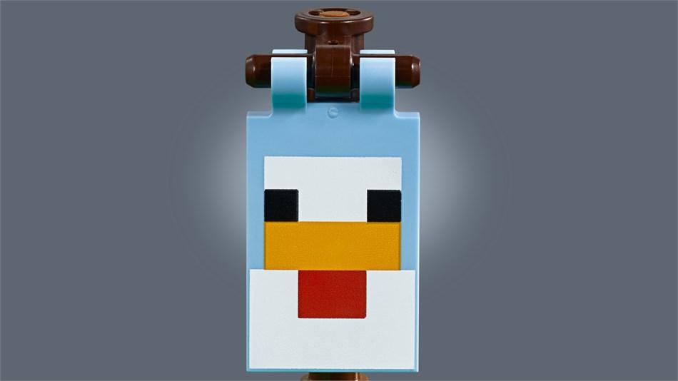 LEGO® Minecraft - Hühnerstall - 21140