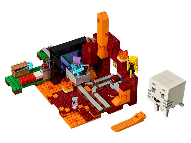 LEGO® Minecraft - Netherportal - 21143