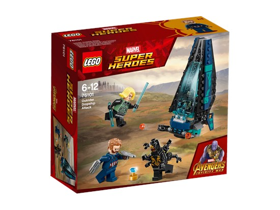 LEGO® Marvel Super Heroes - Outrider Dropship-Attacke - 76101