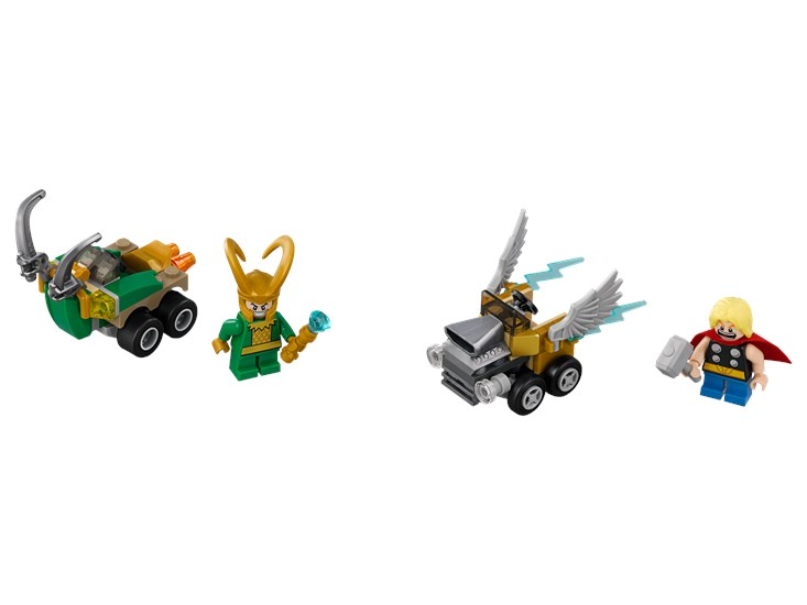 LEGO® Marvel Super Heroes - Mighty Micros Thor vs. Loki - 76091