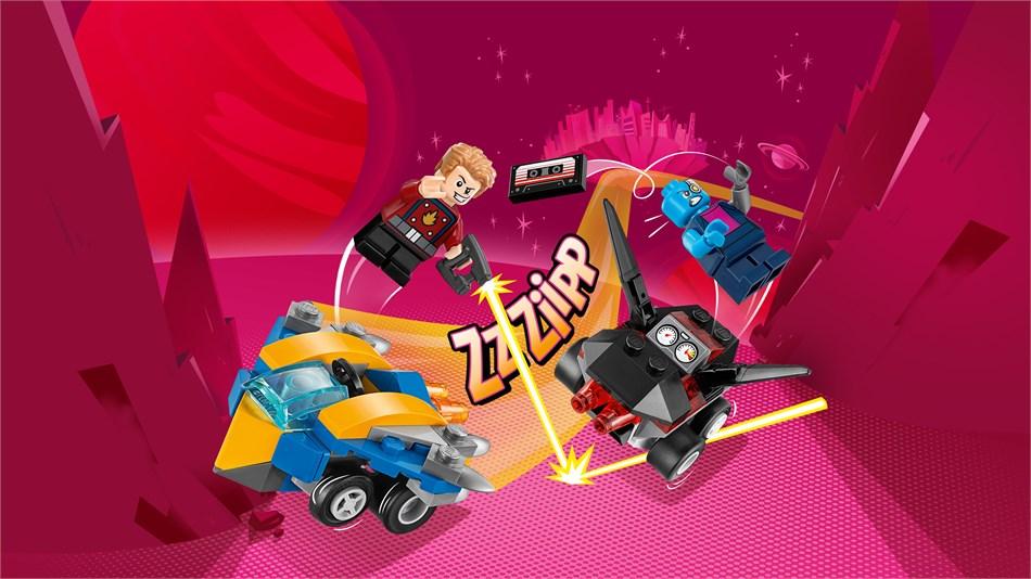 LEGO® Marvel Super Heroes - Mighty Micros Star-Lord vs. Nebula - 76090
