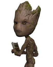 Marvel Avengers Infinity War - Wackelkopf-Figur Groot