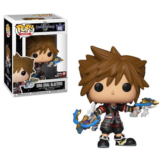 Kingdom Hearts - POP! Vinyl-Figur Sora Dual Blasters