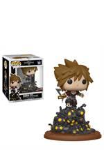 Kingdom Hearts - POP! Vinyl-Figur Sora Riding Heartless Wave