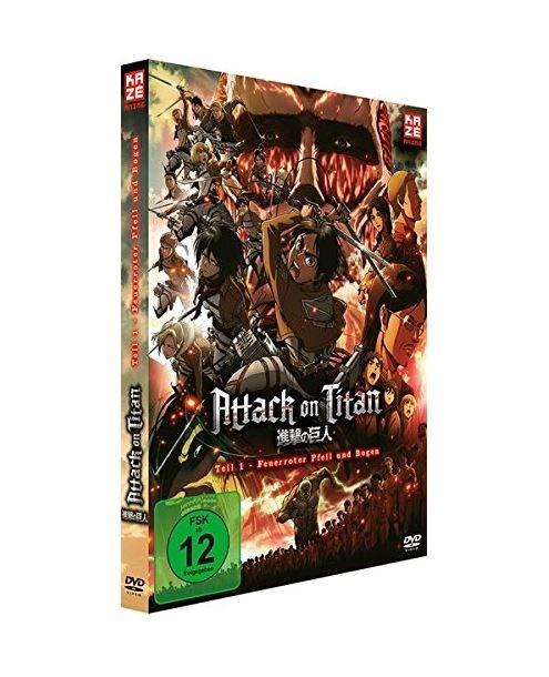Attack on Titan - Feuerroter Pfeil und Bogen (DVD)