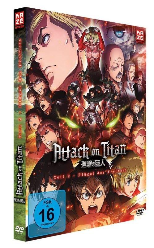 Attack on Titan 2 - Flügel der Freiheit (DVD)