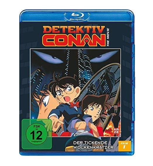 Detektiv Conan - 1. Film: Der tickende Wolkenkratzer (Blu-ray)