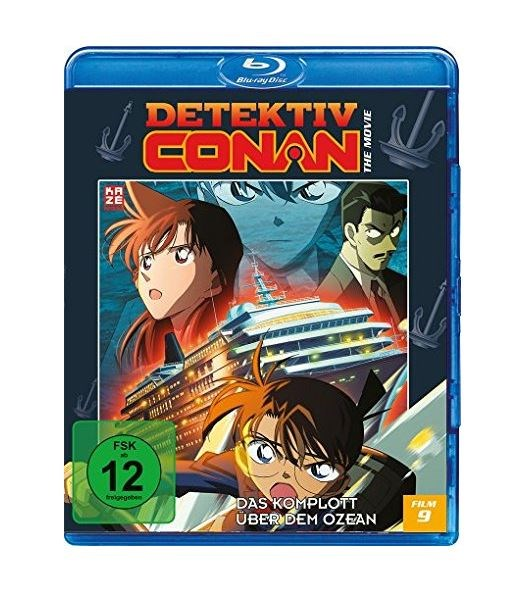 Detektiv Conan – 9. Film: Das Komplott über dem Ozean (Blu-Ray)