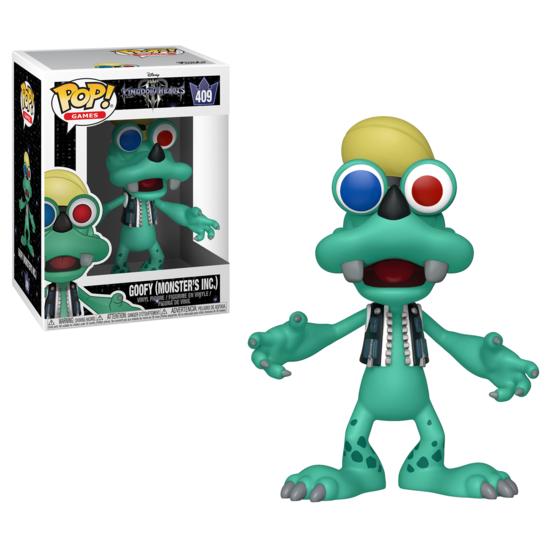 Kingdom Hearts III - POP!-Vinyl Figur Goofy (Monster AG)