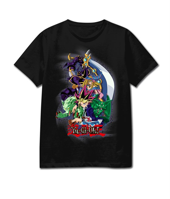 Yu-Gi-Oh! - T-Shirt schwarz (Größe M)