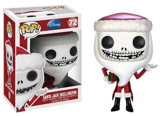 Nightmare Before Christmas - POP! Vinyl-Figur Santa Jack Skellington