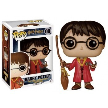 Harry Potter - POP!-Vinyl Figur Harry beim Quidditch