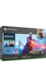 Xbox One X 1TB Konsole Gold Rush inkl. BF V, BF 1 und BF 1943