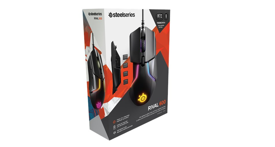 SteelSeries Maus Rival 600