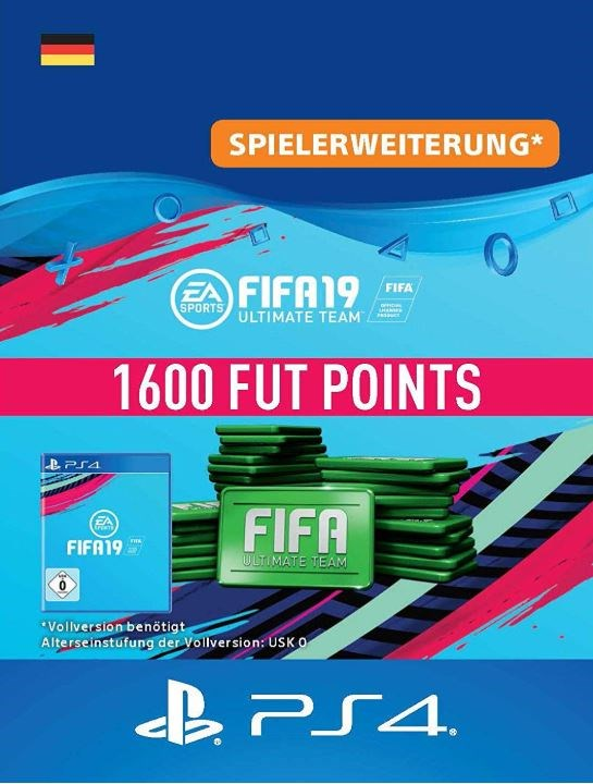 FIFA 19 1600 FUT Points [Code-DE]