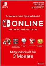 Nintendo Switch Online 3 Monate [Code-DE]