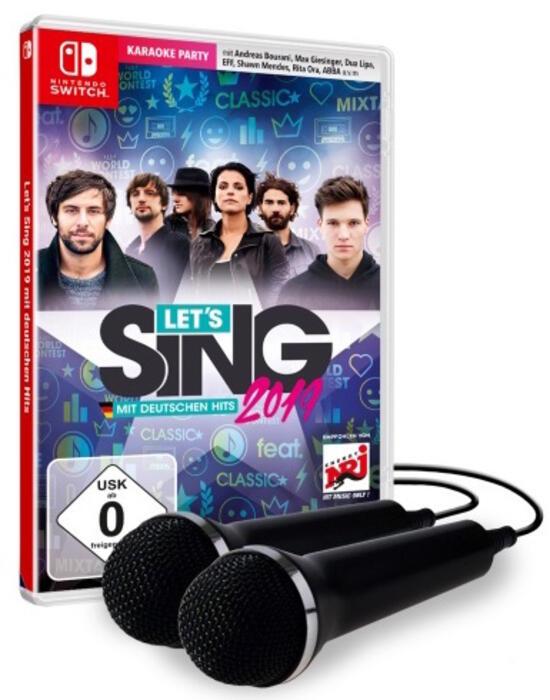 Let's Sing 2019 (inkl. 2 Mikrofonen)