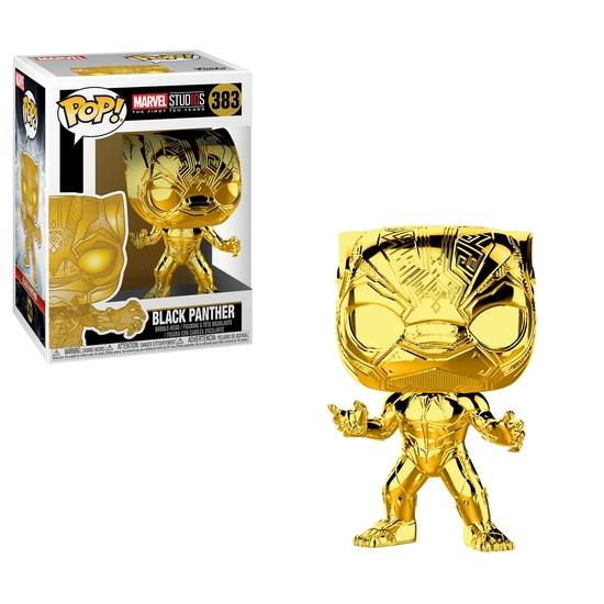 Marvel Black Panther - POP! Vinyl-Figur Black Panther Chrome