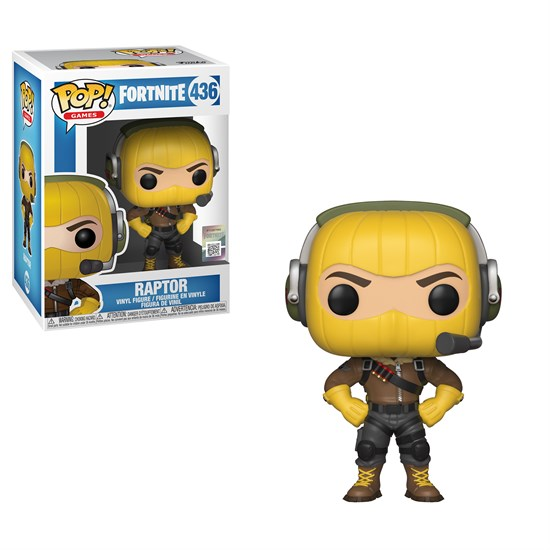 Fortnite Pop Vinyl Figur Raptor Gamestop De