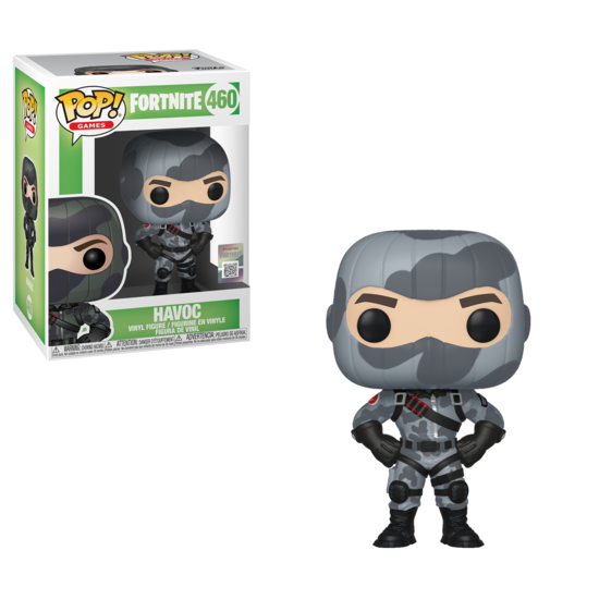 Fortnite Pop Vinyl Figur Havoc Gamestop De