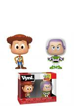 Toy Story - Vynl Figur Woody + Buzz Lightyear
