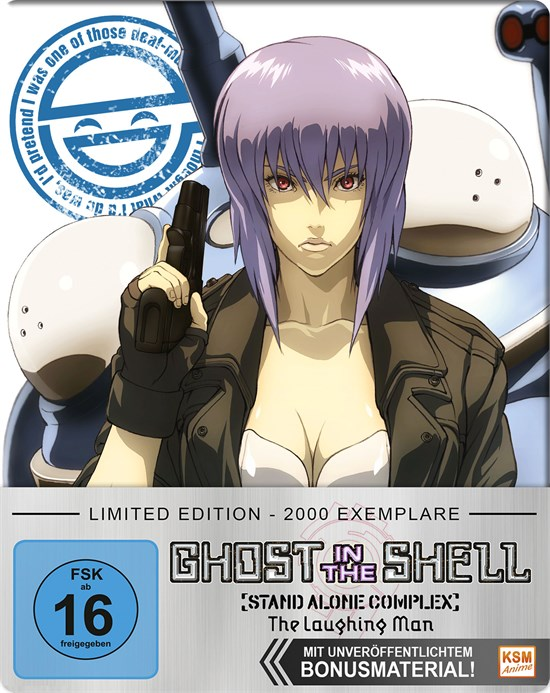 Ghost in the Shell Stand Alone Complex - The Laughing Man (DVD)