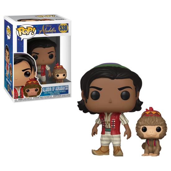 Aladdin - POP!-Vinyl Figur Aladdin von Agrabah mit Abu