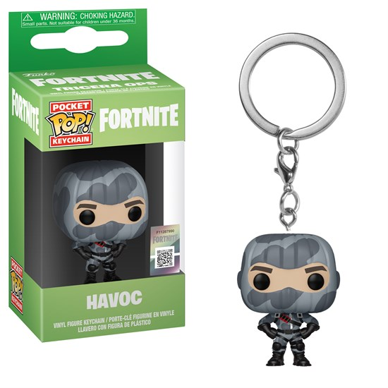 Fortnite Pocket Pop Schlusselanhanger Havoc Gamestop De