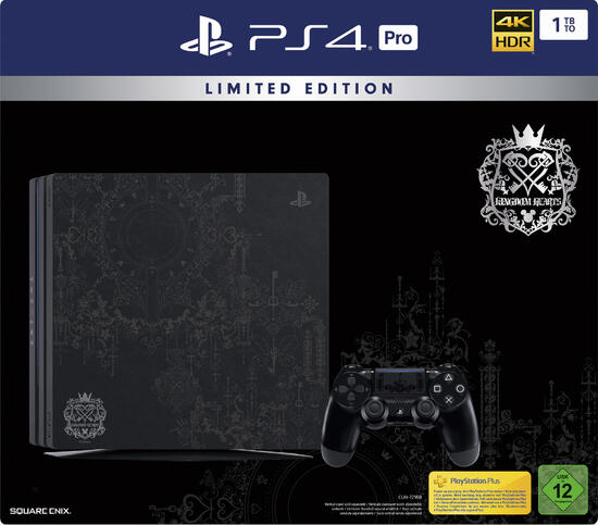 PlayStation 4 Pro 1TB Konsole Kingdom Hearts III Limited Edition (GameStop exklusiv!)