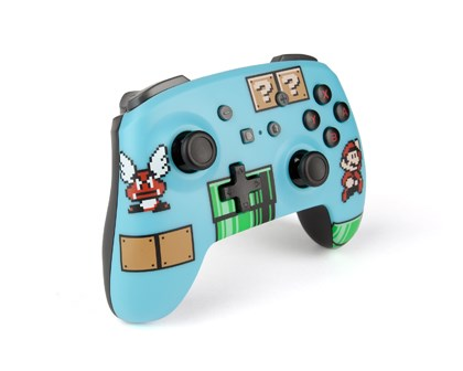 Nintendo Switch PowerA Wireless Controller Retro Super Mario