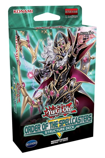 Yu-Gi-Oh! Trading Card Game: Structure Deck: Order of the Spellcasters
