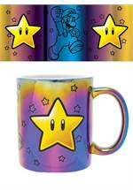 Super Mario - Tasse Star Power Metallic
