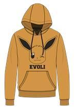 Pokémon - Hoodie Evoli (Größe L)