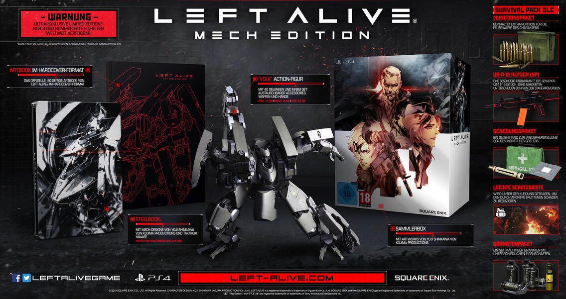 Left Alive Mech Edition (only online!)