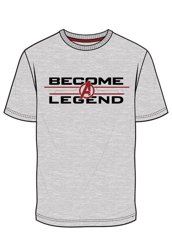 Marvel Avengers - T-Shirt Become Legend (Größe L)