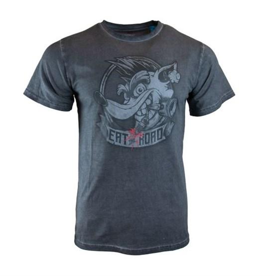 Crash Team Racing - T-Shirt Eat the Road (Größe L)