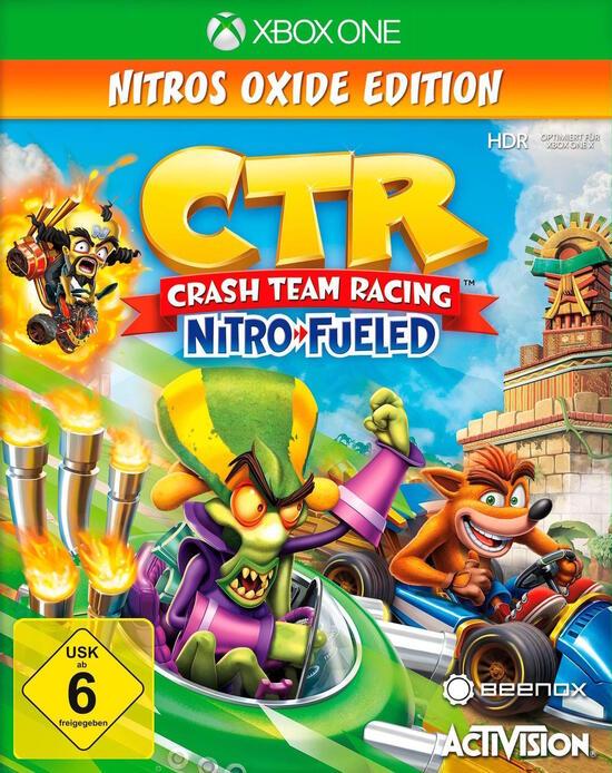 Crash Team Racing Nitro-Fueled Nitros Oxide Edition