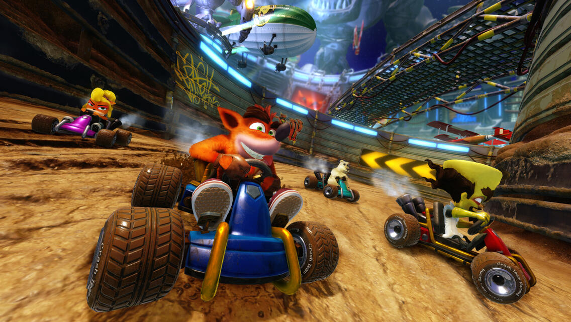 Crash Team Racing Nitro-Fueled Nitros Oxide Edition