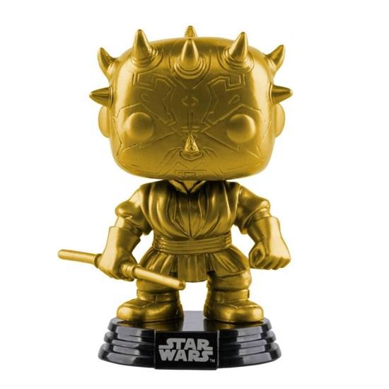 Star Wars - POP!-Vinyl Figur Darth Maul (Gold metallisch
